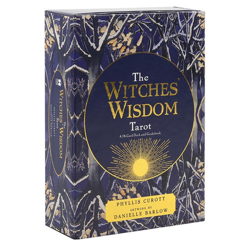 THE WITCHES WISDOM TAROT CARDS