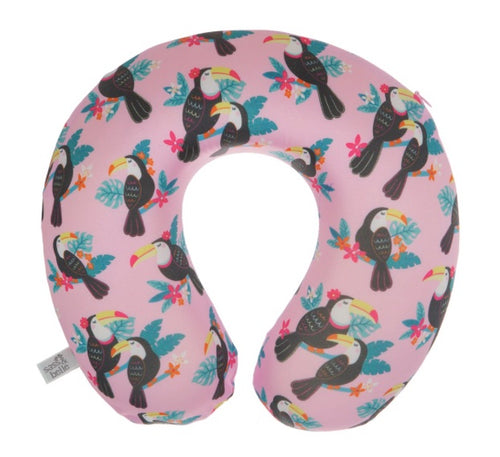 TIKI TOUCAN TRAVEL NECK PILLOW - Miss Pretty London UK Limited