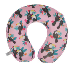 TIKI TOUCAN TRAVEL NECK PILLOW