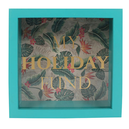 Tropical Island Holiday Fund Money Box