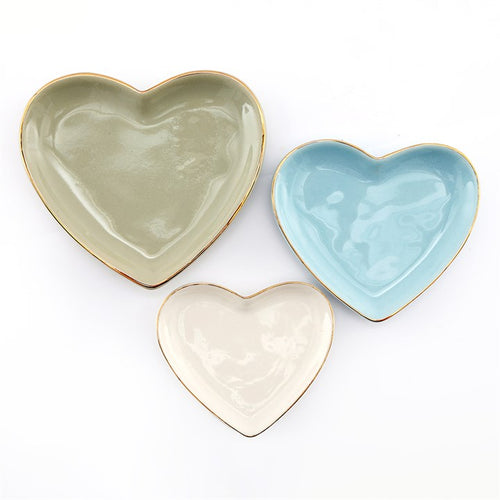 HEART TRINKET TRAYS
