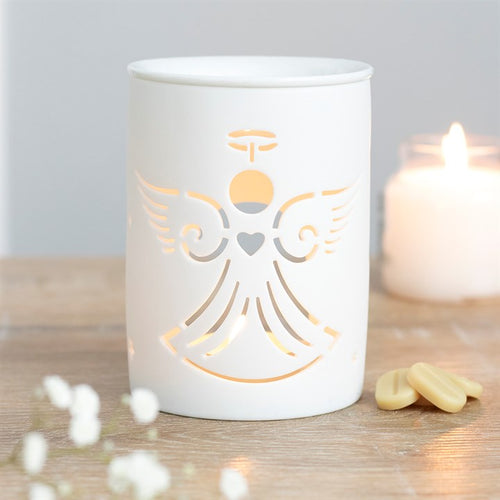 WHITE ANGEL CUT OIL BURNER