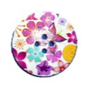 Woodland_Flowers_Round_Buttons_-_Pack_of_3