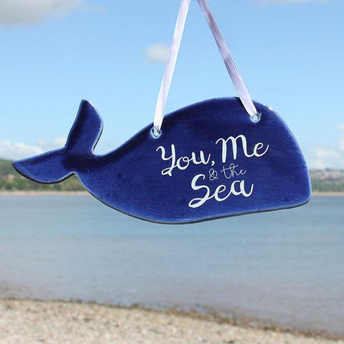YOU, ME AND THE SEA CERAMIC HANGING DECORATION