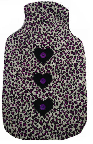 Purple_Animal_Print_Hotwater_Bottle_Cover