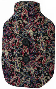 Black_Paisley_Hotwater_Bottle_Cover