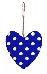 Blue_and_White_Polka_Dot_Print_Plump_Fabric_Hanging_Heart