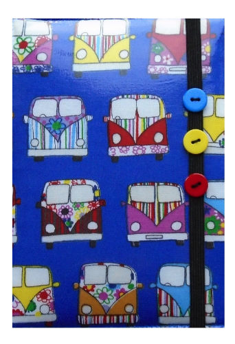 Blue Camper Van Print E-Reader Case - Miss Pretty London UK Limited