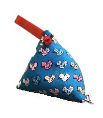 Blue Ducks Print Lavender Bag
