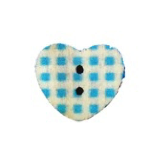 Blue_Gingham_Print_Wooden_Heart_Buttons_-_Pack_of_5