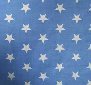 Large_Pale_Blue_Stars_Print_PolyCotton_Fabric