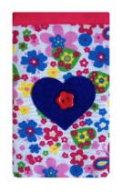 Flutterbies Print Mobile Phone Sock Pouch - Miss Pretty London UK Limited