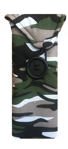 Camo Print Glasses Case - Miss Pretty London UK Limited