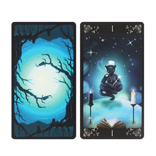 Load image into Gallery viewer, BLACK CATS TAROT CARDS
