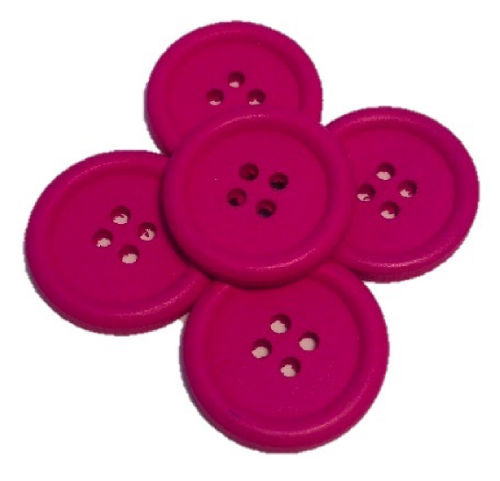 Cerise_Pink_Buttons_-_Pack_of_Five
