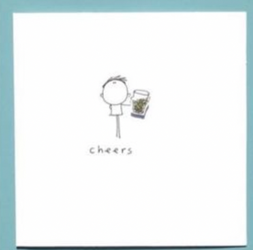 Cheers Birthday Greeting Card - WCC11 - Miss Pretty London UK Limited