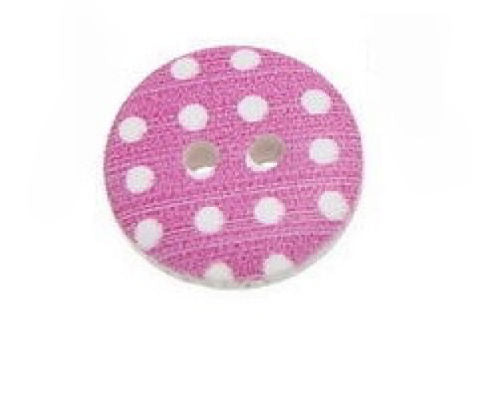 Dark_Pink_Polka_Dot_Buttons_-_Pack_of_Five_-_15mm