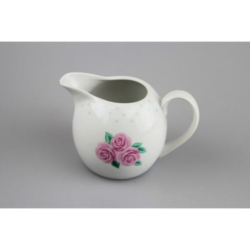 Porcelain 'Afternoon Tea' vintage design Milk Jug 350ml
