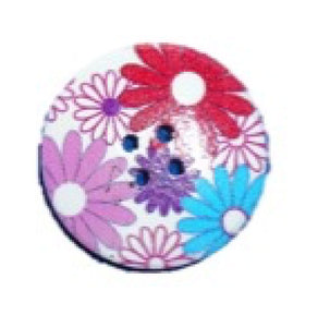 Cute_Garden_Daisies_Round_Buttons_-_Pack_of_3