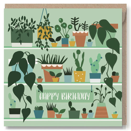 Gardeners Birthday Greeting Card
