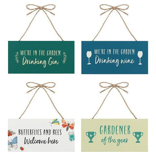 Gardeners Sign - 4 Designs Available - Miss Pretty London UK Limited