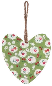 Green_Cherry_Blossom_Print_Hanging_Heart