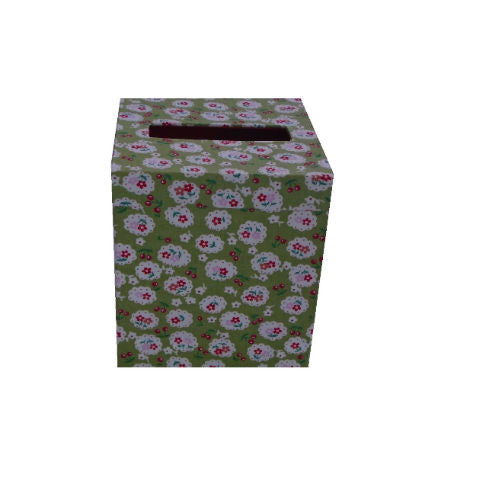 Green_Cherry_Blossom_Print_Tissue_Box