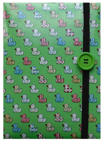 Green Quacky Duck Print E-Reader Case - Miss Pretty London UK Limited
