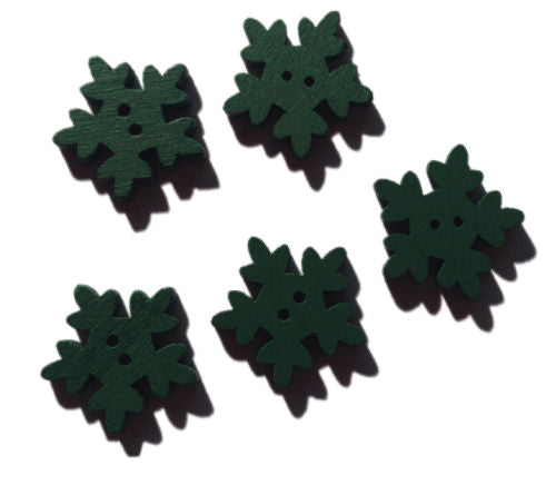 Green_Wooden_Icicle_Buttons_-_Pack_of_5