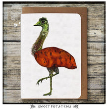 Load image into Gallery viewer, Sweet Potatemu Greeting Card - Miss Pretty London UK Limited