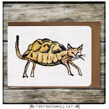 Load image into Gallery viewer, Tortoiseshell Cat Greeting Card
