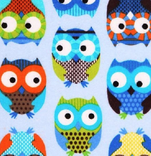 Large_Blue_Owl_Print_Cotton_Fabric