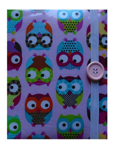 Large Pink Owls Print E-Reader Case - Miss Pretty London UK Limited