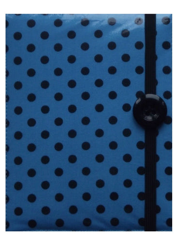 Light Blue Polka Dot Print E-Reader Case - Miss Pretty London UK Limited