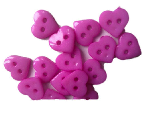 Lilac_Plastic_Heart_Buttons_-_Pack_of_10