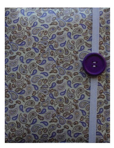 Lilac Paisley Print E-Reader Case - Miss Pretty London UK Limited