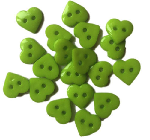 Lime_Green_Plastic_Heart_Buttons_-_Pack_of_10