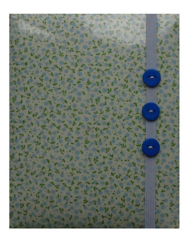 Mini Blue Flowers Print E-Reader Case - Miss Pretty London UK Limited