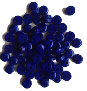 Mini_Dark_Blue_Round_Buttons_-_Pack_of_10_-_6mm