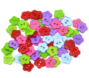 Mixed_Coloured_Mini_Flower_Buttons_-_14mm