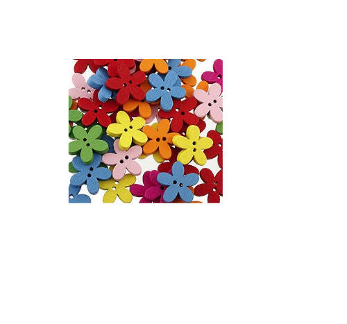 Mixed_Coloured_Wooden_Flower_Buttons_-_15mm
