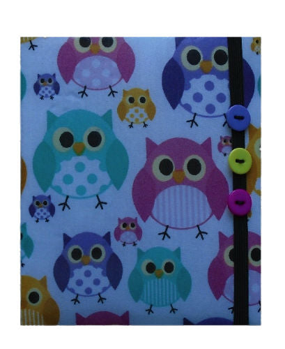 Multicoloured_Owls_Print_E-Reader_Case