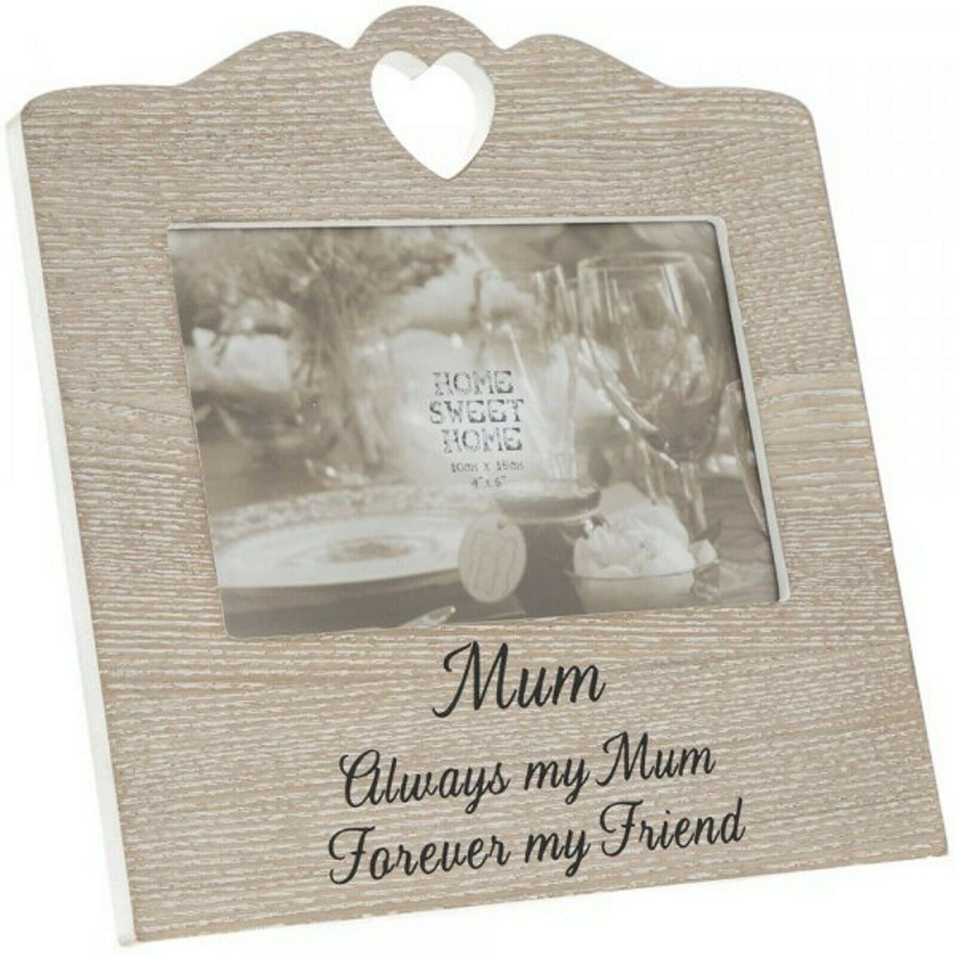 SENTIMENTS HEART FRAME MUM