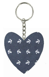 Navy_Blue_Anchor_Print_Heart_Keyring