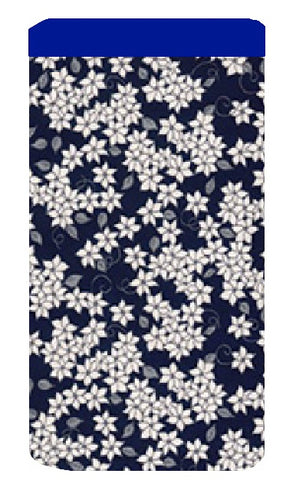 Blossom Print Mobile Phone Sock Pouch