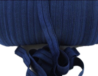 Soft_Navy_Blue_Fold_Over_Headband_Elastic_-_16mm