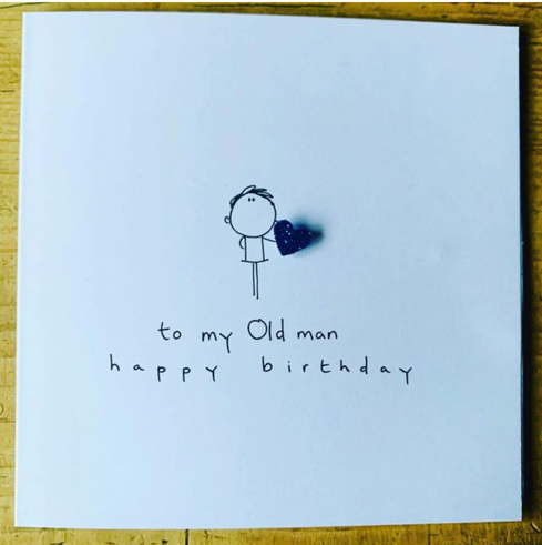 Old Man Birthday Greeting Card - WCC6 - Miss Pretty London UK Limited