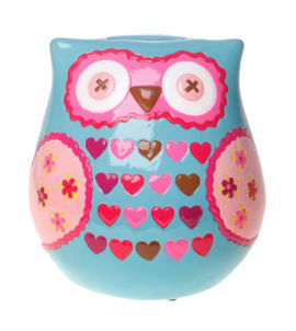Fun Owl Money Box