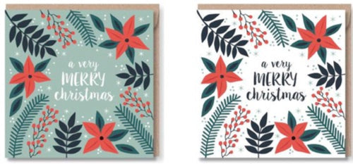 Pack of 6 Christmas Cards - CMC0207
