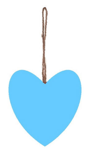 Plain_Baby_Blue_Plump_Fabric_Hanging_Heart